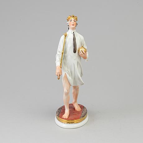 Figurin, porslin. bing & gröndahl, danmark, 1900 talets andra hälft
