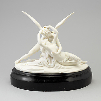 A Gustafsberg Parian sculpture, first 1910/20s.