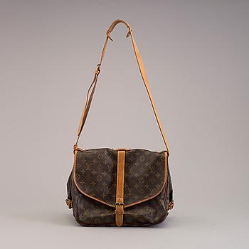 "LOUIS VUITTON, väska, ""Samur 35""."