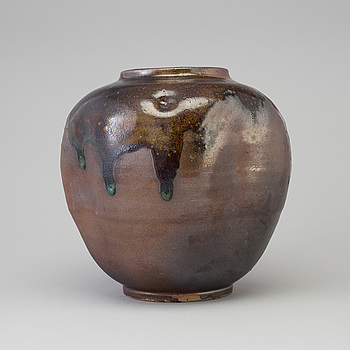 A earthenware bowl, 20th century.