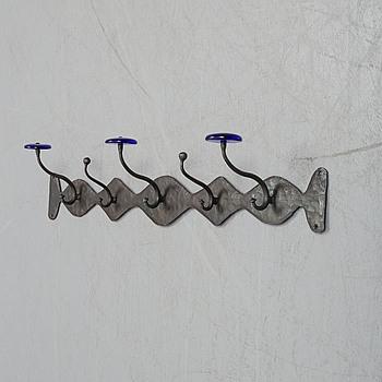 ERIK HÖGLUND, ERIK HÖGLUND, a wrought iron clothes hanger from Boda Smide.