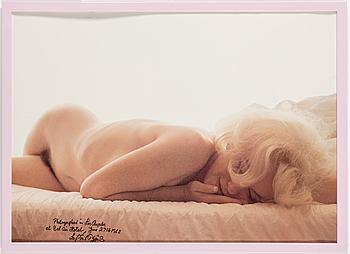 "LEIF ERIK NYGÅRDS, offsettryck, Marilyn Monroe"", signerad."