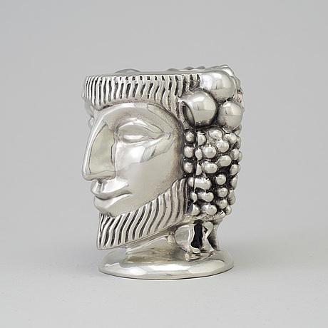"A ""the janus head"" vase, anna petrus for firma svenskt tenn, 2017"