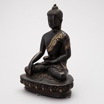 BUDDHA, orientalisk, brons, 1900-tal.
