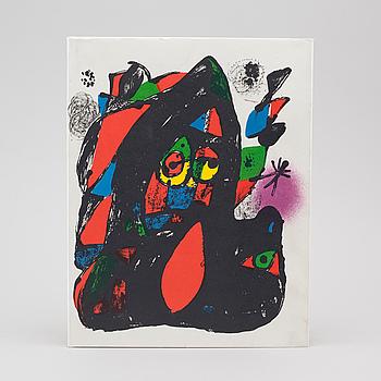 """BOK, """"Joan Miró, Lithografo IV, 1969-1972"""", 1982."""