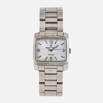 SJÖÖ SANDSTRÖM, Royal Steel Quattro, wristwatch, 30,5 mm.