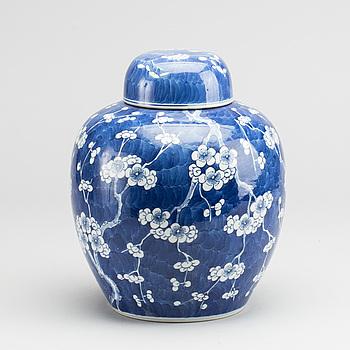 BOJAN med lock, Kina sen Qing omkring 1900 porslin.