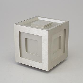 "FRANK LLOYD WRIGHT, lockask, tenn,  ""Four-Square Cube"", Historical Arts & Casting inc., numrerad 00319."