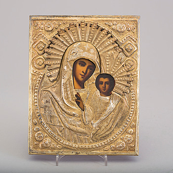 An icon, late 19th/ early 20th century.