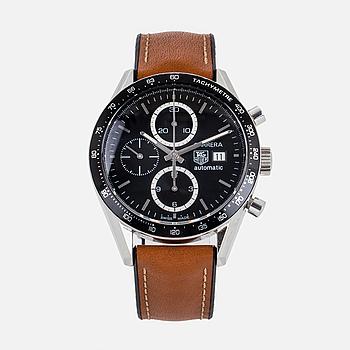 "TAG HEUER, Carrera, ""Tachymetre"", kronograf, armbandsur, 41 mm."