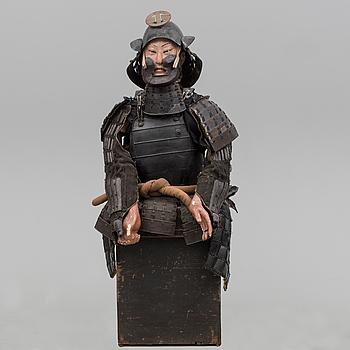 A japanese Edo-period armour.