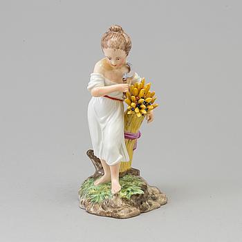 A Royal Copenhagen porcelain figure 'Summer', Denmark, late 19th century.