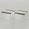 Two sideboard second half of 20th century,