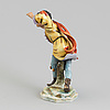 Figurin, porslin. tyskland tidigt 1900-tal.
