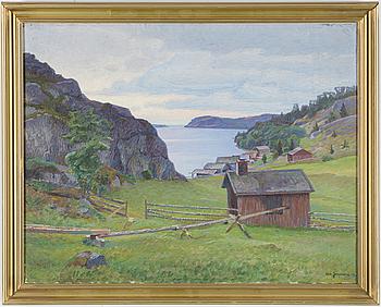 CARL JOHANSSON, Olja på duk, signerad och daterad -07.