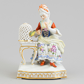 A Meissen allegorical figure group, Germany, 1970's.