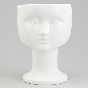 LISA LARSON, A stoneware vase by Lisa Larson, Gustavsberg.