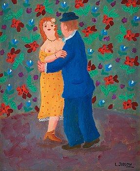 """502. LENNART JIRLOW, """"La dance""""."""