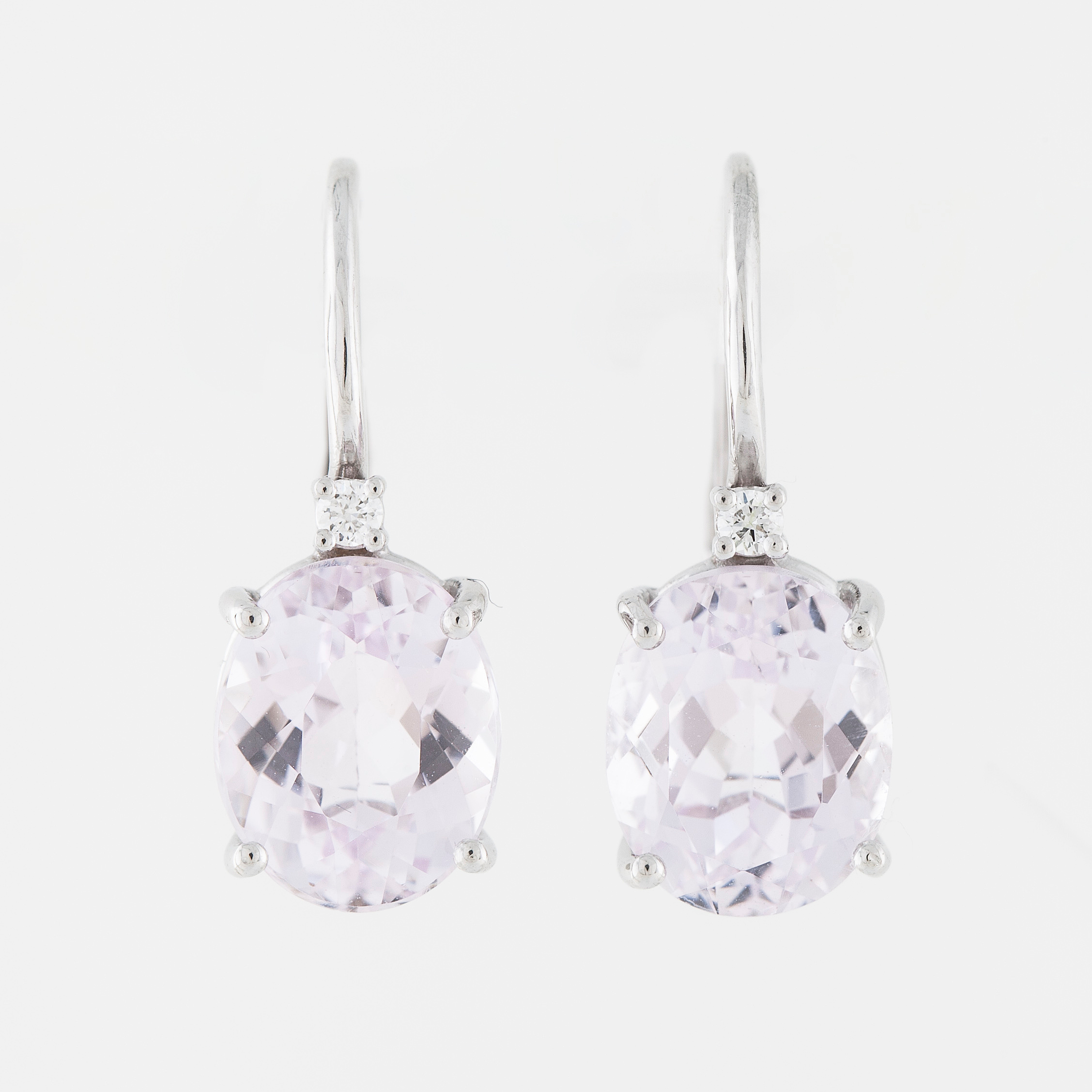 earrings jewellery product kunzite iroshini
