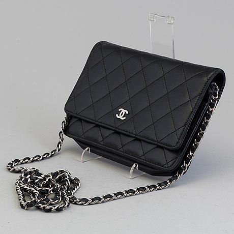 """VÄska, """"wallet on chain"""", chanel, 2012"""