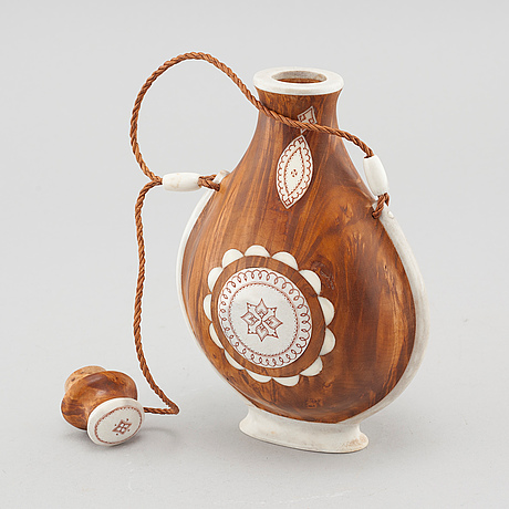 A flask by anders sunna, signed