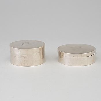 DOSOR 2 st, silver 1804 resp 1809.