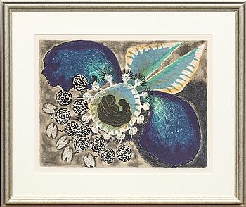 KARL AXEL PEHRSON, färglitografi, signerad och daterad 67, numrerad 7/320.