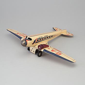 "METTOY, flygplan, ""GA-AGX"", England, omkring 1950."