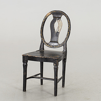 A GUSTAVIAN CHAIR.