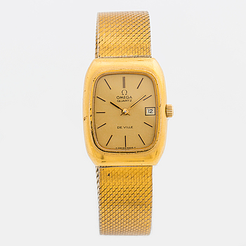 OMEGA, De Ville, armbandsur, 25 x 32 mm,