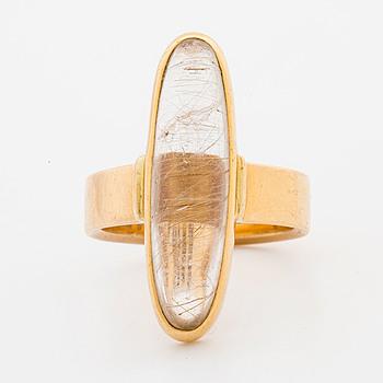 SIGURD PERSSON, ring, 18K guld, Stockholm, 1960,