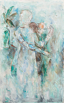 16. Anitra Lucander, PLAYING THE VIOLIN.
