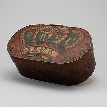SVEPASK, allmoge, daterad 1806.