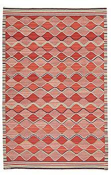 "298. BARBRO NILSSON, MATTA, ""Rödspättan"", gobelängteknik, ca 313 x 204 cm, signerad AB MMF BN."