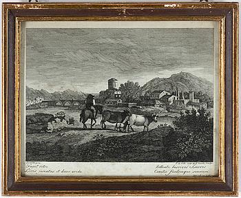 GRAVYRER, ett par, omkring år 1800.