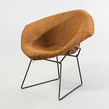 "HARRY BERTOIA, fåtölj, ""Diamond Chair""."