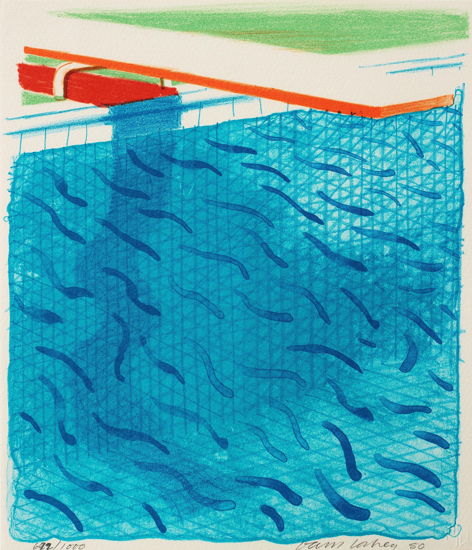 david hockney   u0026quot paper pools u0026quot