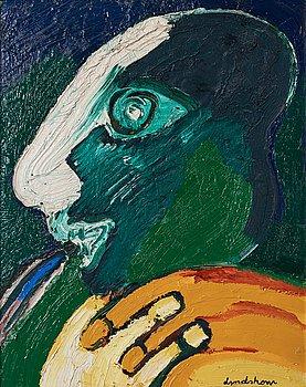 501. BENGT LINDSTRÖM, BENGT LINDSTRÖM, oil on canvas, signed, executed 1968.