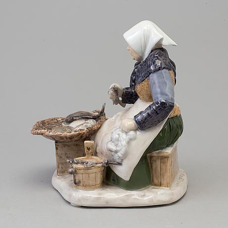 Figurgrupp, porslin. axel locher, bing & gröndahl, danmark, 1900 talets andra hälft