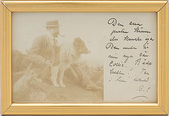 CARL LARSSON (1853-1919), brevkort, 1903.