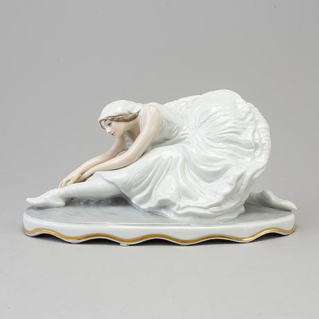 Figurin, porslin. rosenthal, selb, tyskland, 1929.