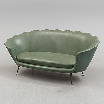 A mid 20th century Italian sofa.