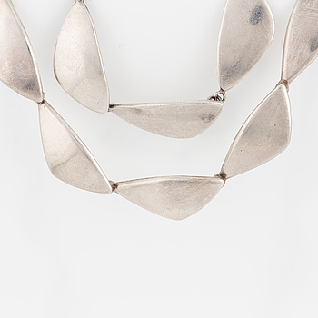 ULRICH, collier och armband, sterlingsilver, Danmark.