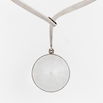 BIRGER HAGLUND, Necklace with rock crystal.