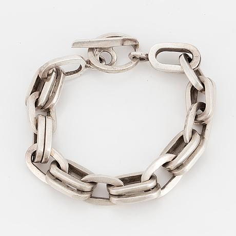 Olle hellmouth, bracelet, silver.