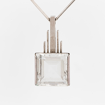 ATELJÉ STIGBERT,  Pendant with rock crystal.