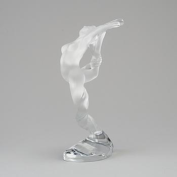 LALIQUE, figurin, glas, Frankrike, 1900-talets andra hälft.