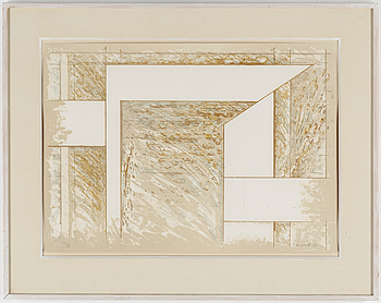 JUHANA BLOMSTEDT, JUHANA BLOMSTEDT, A litograph in colors, signed and numbered 11/93.
