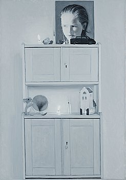 "81. YLVA OGLAND, ""Venus at Her Mirror""."