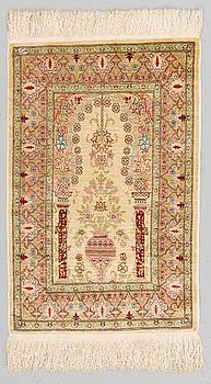 MATTA, Hereke silke, ca 76 x 48 cm.